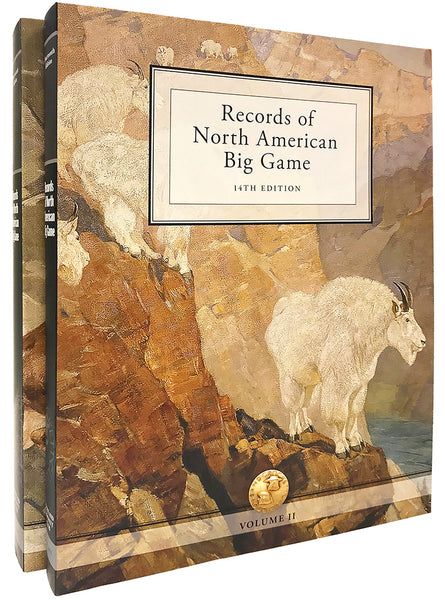 Records of North American Big Game - Paperback Set