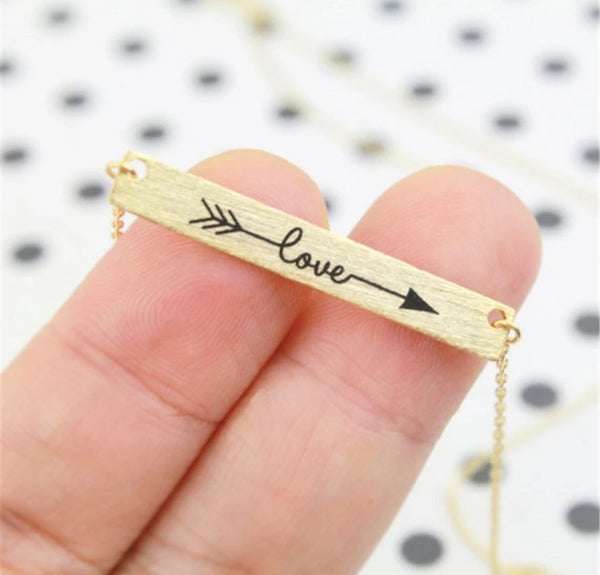 Arrow Love Necklace