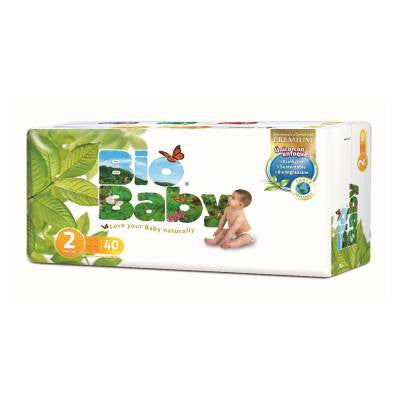 Bio Baby Disposable Diapers Size 2 (40 ct)