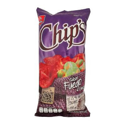 Chip's Fuego Potatoe Chips