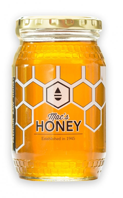 Raw, Unprocessed, Unheated Orange Blossom Honey (400 g)