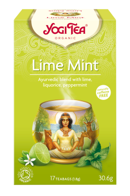 Yogi Organic Tea:  Fruity Zesty Lime and Mint