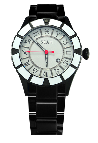 Astronomer White Face Watch