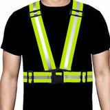 Ultra-Reflective Vest Yellow - Pro Glow Sports - 1