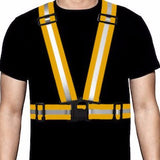 Ultra-Reflective Vest Orange - Pro Glow Sports - 1