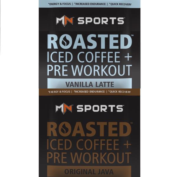 1 Original Java and  1  Vanilla Latte Coffee Pre workout