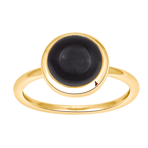 Nordahl Jewellery - Sweets ring - Sort onyx sten