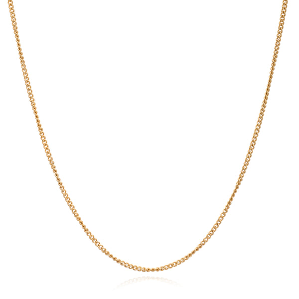 Mother of Daughters Chain necklace mid length gold Rachel Jackson London