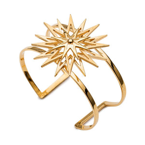 Rockstar Statement Cuff - Gold