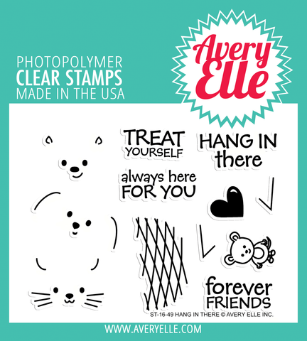 Hang In There Clear Stamps