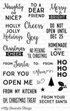 My Favorite Things Gift Tag Greetings Stamp