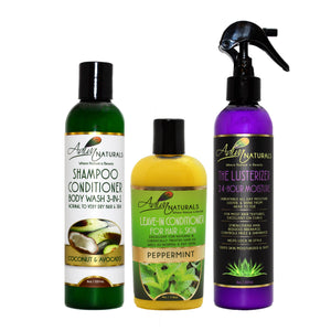 Hydrate and Luxuriate Hair and Skin Care Set (5 Flavors)
