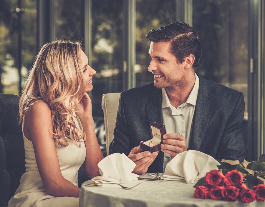 Gentlemen: Will You Be Popping the Question this Engagement Season?
