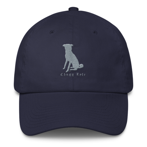 The Navy Blue Curved Chugg Cap