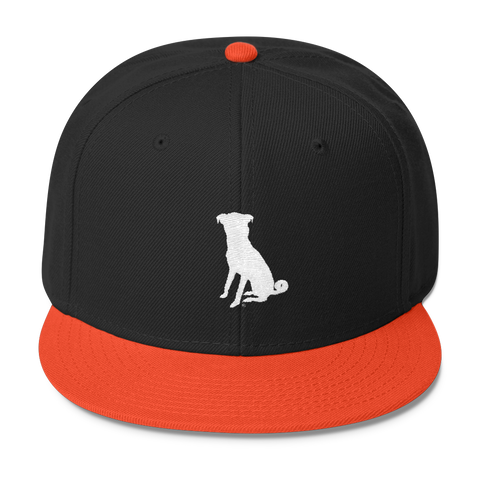 The Orange/Black Chugg Snapback