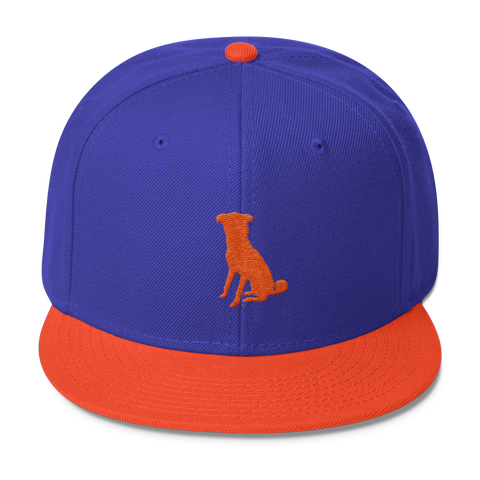 The Orange/Royal Chugg Snapback