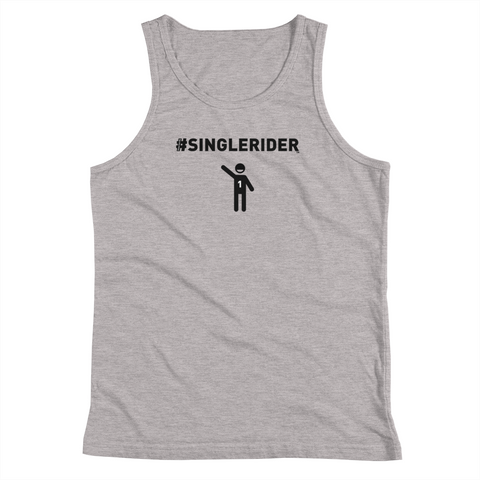#SingleRiders Design Youth Tank Top