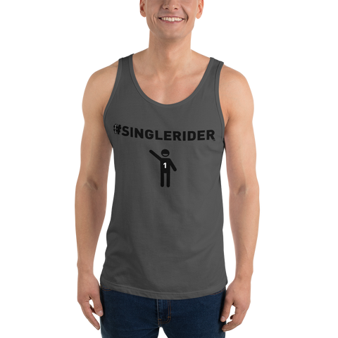 #SingleRiders Design Unisex Tank Top