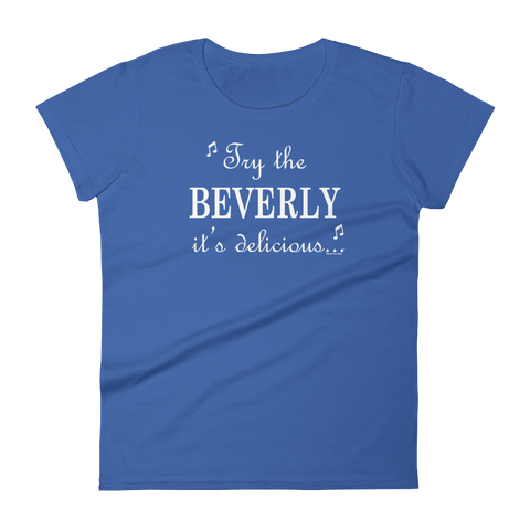 Beverly Design Women's short sleeve t-shirt - Chugg Lyfe