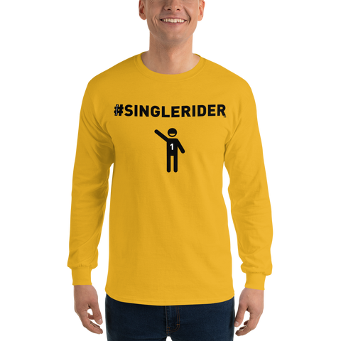 #SingleRiders Design Long Sleeve T-Shirt