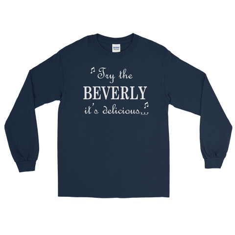 Beverly Design Long Sleeve T-Shirt - Chugg Lyfe
