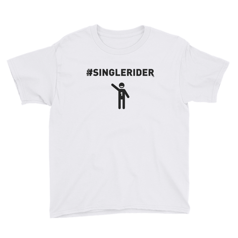 #SingleRiders Design Youth Short Sleeve T-Shirt