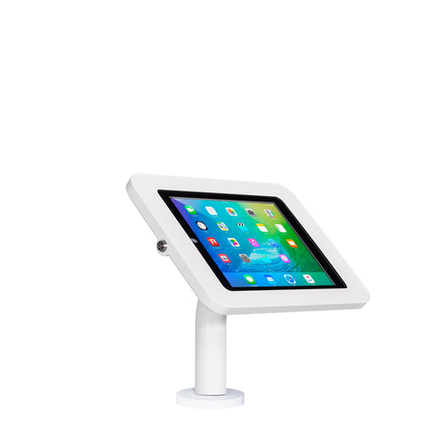 kiosks - Elevate II Wall | Countertop Mount Kiosk for iPad 9.7 6th | 5th Generation | Air (White) - The Joy Factory