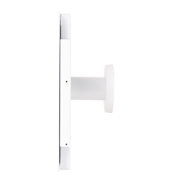 kiosks - Elevate II On-Wall Mount Kiosk for iPad Pro 12.9 3rd Gen (White) - The Joy Factory