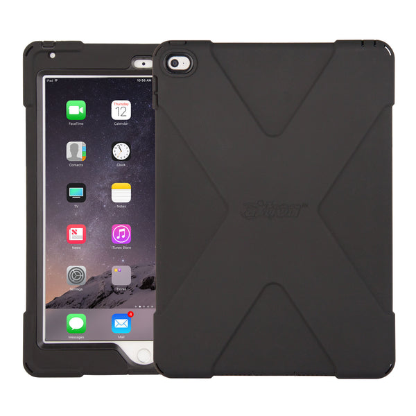 cases - aXtion Bold Case for iPad Air 2 (Black/Black) - The Joy Factory
