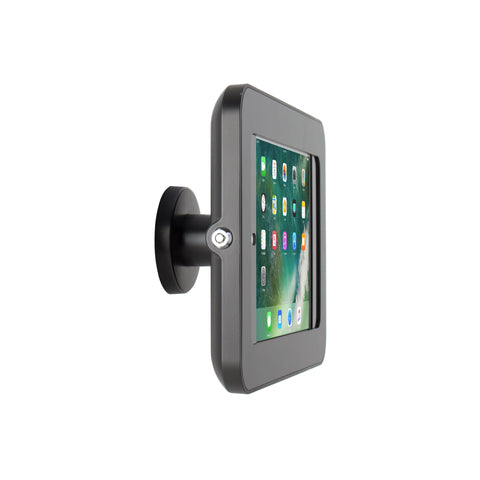 kiosks - Elevate II On-Wall Mount Kiosk for iPad 9.7 6th | 5th Generation | Air (Black) - The Joy Factory