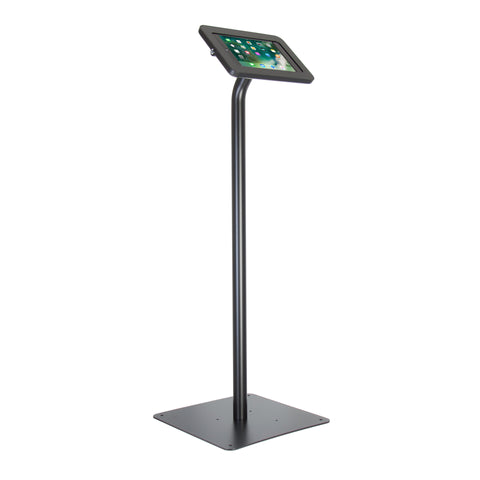 kiosks - Elevate II Floor Stand Kiosk for iPad 9.7 6th | 5th Generation | Air (Black) - The Joy Factory