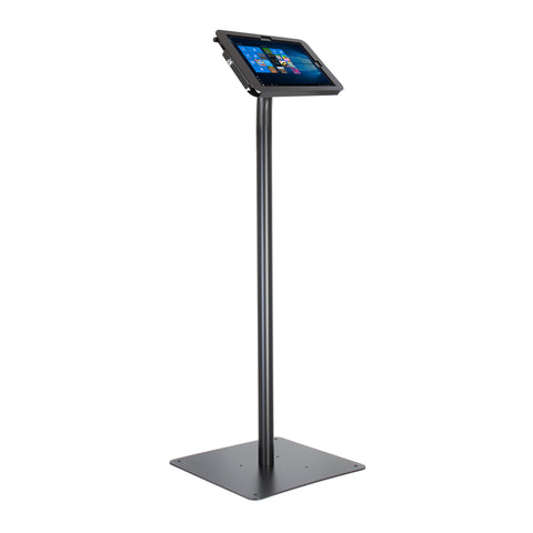 kiosks - Elevate II Floor Stand Kiosk for Surface Pro 6 | 5 | 4 | 3 (Black) - The Joy Factory