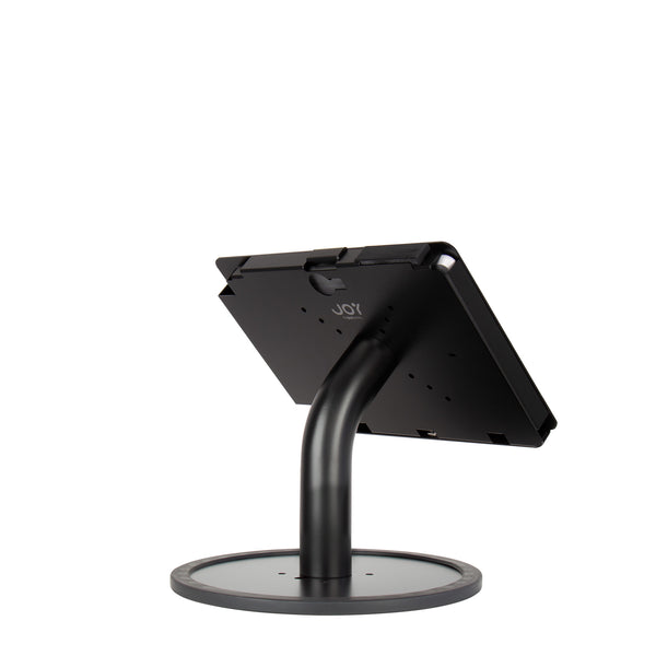 kiosks - Elevate II Countertop Kiosk for Surface Go (Black) - The Joy Factory