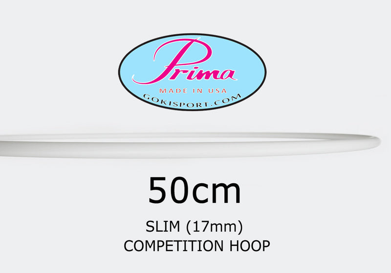 50cm PRIMA Slim Profile Hoops - Juniors, Style: GS298