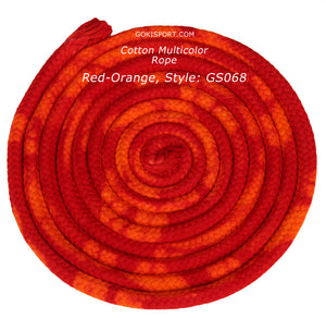 GOKISPORT Cotton Multicolor Collection, Red-Orange, Style: GS068