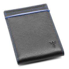 RFID Money Clip Wallet - Blue,MONEY CLIP,GentRow.com, | GentRow.com