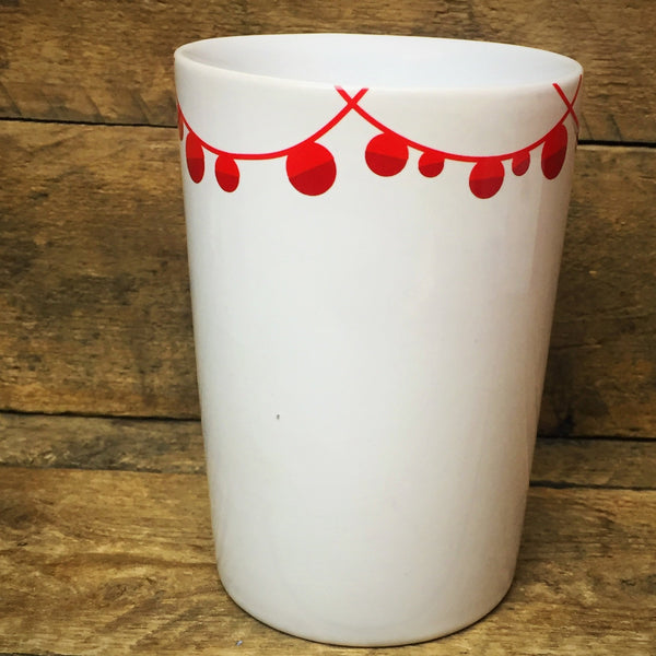 Starbucks 2012 Holiday Mug 10.8 fl oz Red Garland