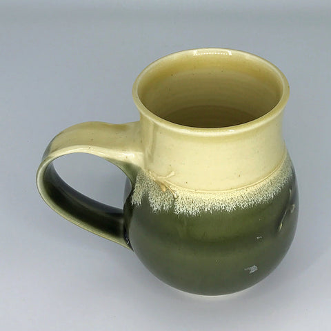 The Raising Bowl Green and Butter Stoneware Mug