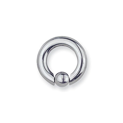 Solid Titanium Captive 4G (5.2mm) 5/8 (15mm) Dia with 8mm Captive Ball Unc - shopvistar