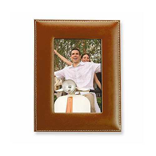 Camel Leather 8x10 Photo Frame - shopvistar