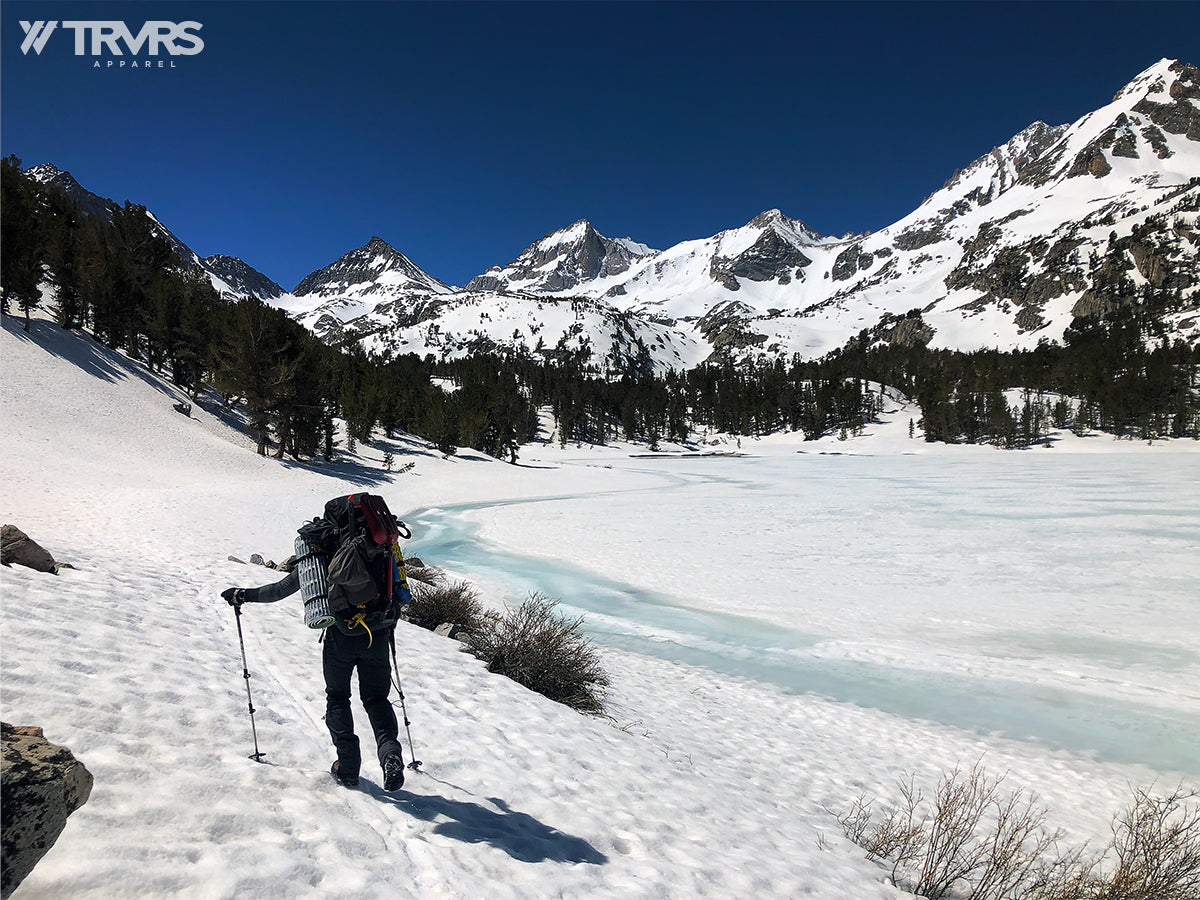 Long Lake via Rock Creek Trail - Little Lakes Valley - Inyo National Forest - Sierra Nevada Mountains | TRVRS Apparel