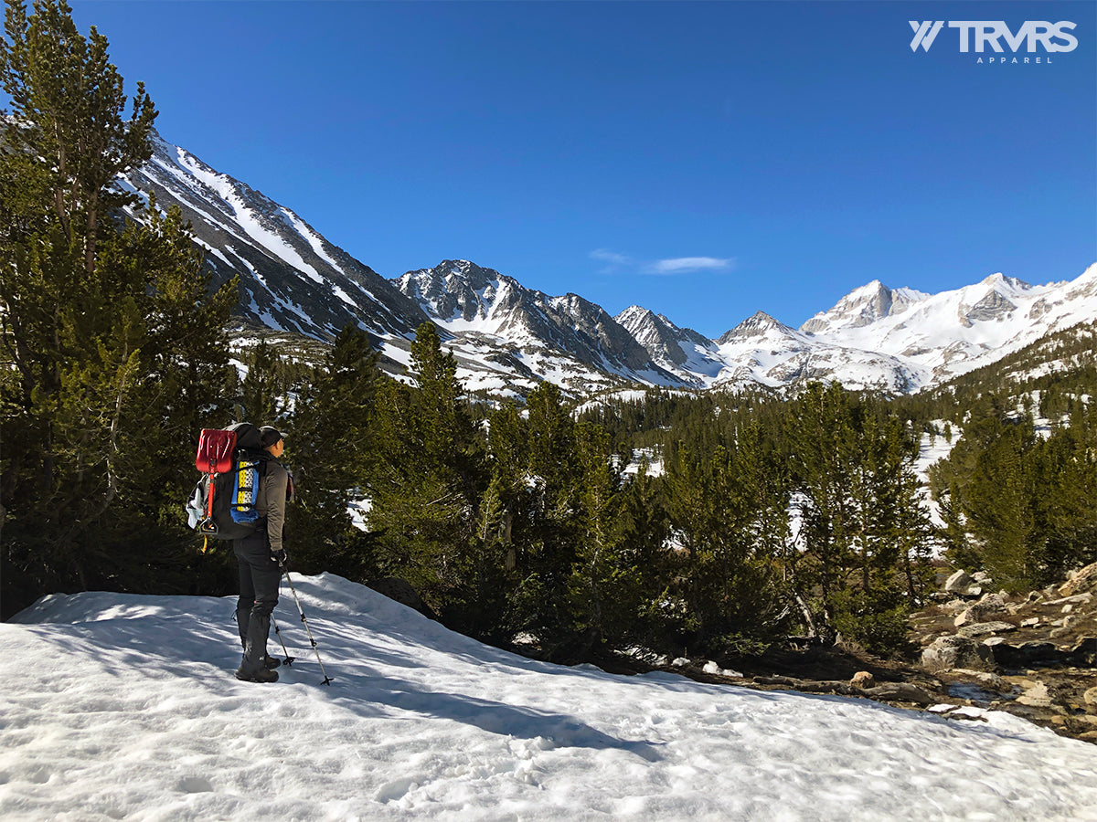 Rock Creek Trail, Appraoching Heart Lake -  Little Lakes Valley - Inyo National Forest - Sierra Nevada Mountains | TRVRS Apparel