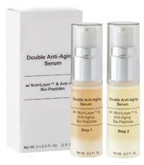 This super-charged vitamin enriched anti-aging serum will reduce the appearance of fine lines and wrinkles for healthier, more radiant skin. This serum contains NutriLayerwhich is a breakthrough natural extract that in combination with Pro Vitamin B5 will moisturize, soothe and smooth the skin. Vitamins A, C and E will protect skin from free radical damage while Bio-Peptides will stimulate the skin's natural production of collagen. Perfect for normal to dry and mature skin types.