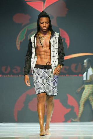 RuvaAfricWear on the Runway in LA