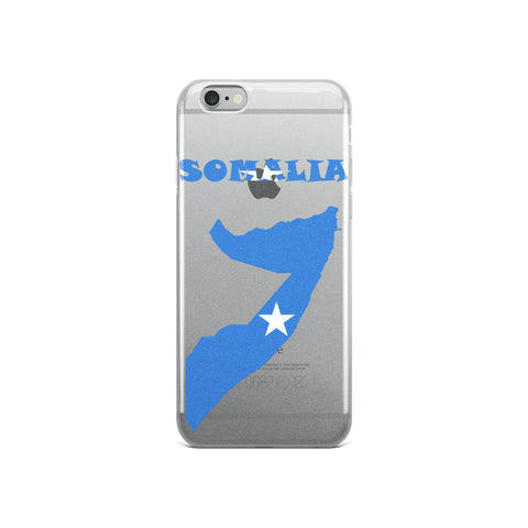 Somalia Map iPhone Case