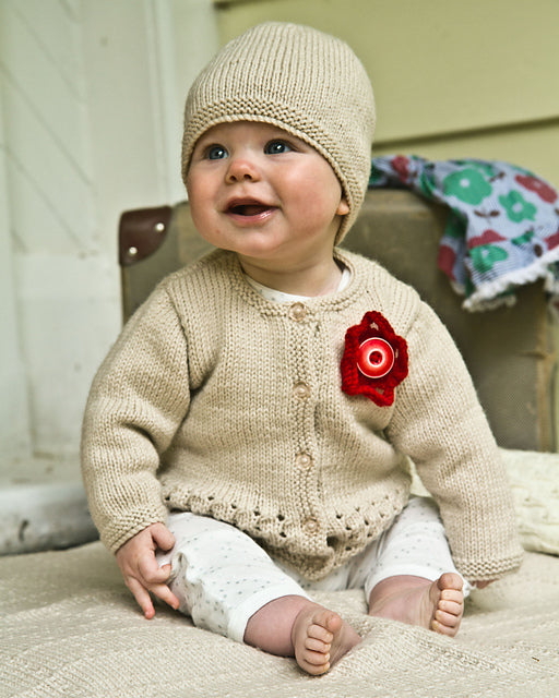 Indiana Cardi and Hat