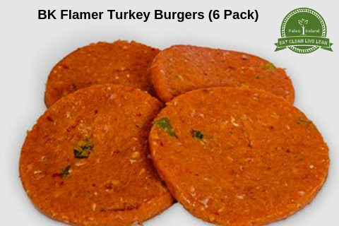 BK Flamer Turkey Burgers
