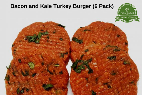 Bacon and Kale Turkey Burger