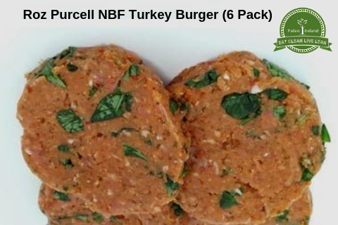Roz Purcell NBF Turkey Burger