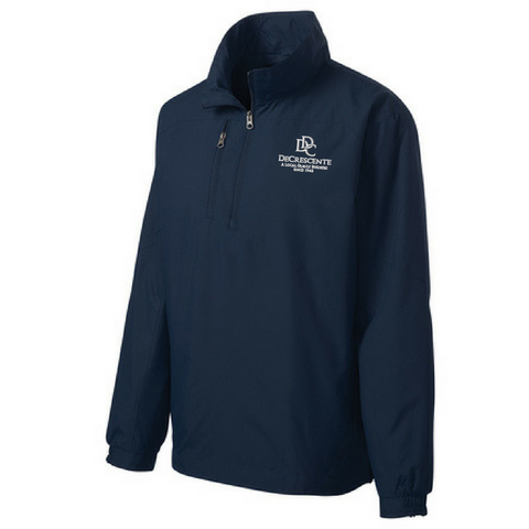DDC 1/4 Zip Wind Jacket- 2 Colors